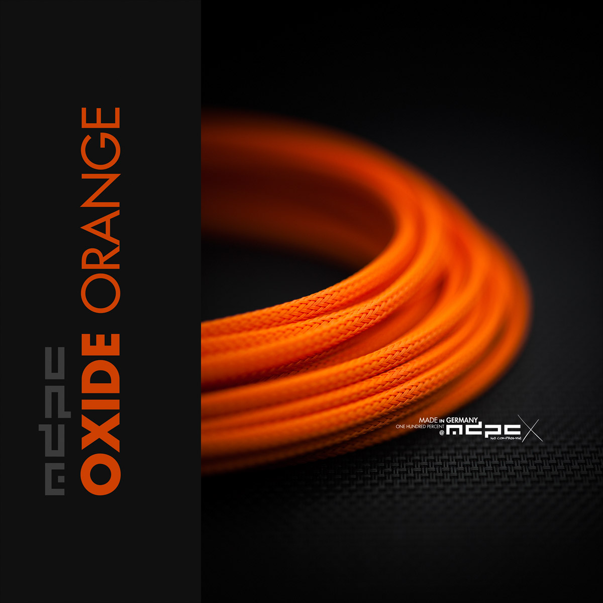 Oxide Orange Cable Sleeving Small Mdpc X