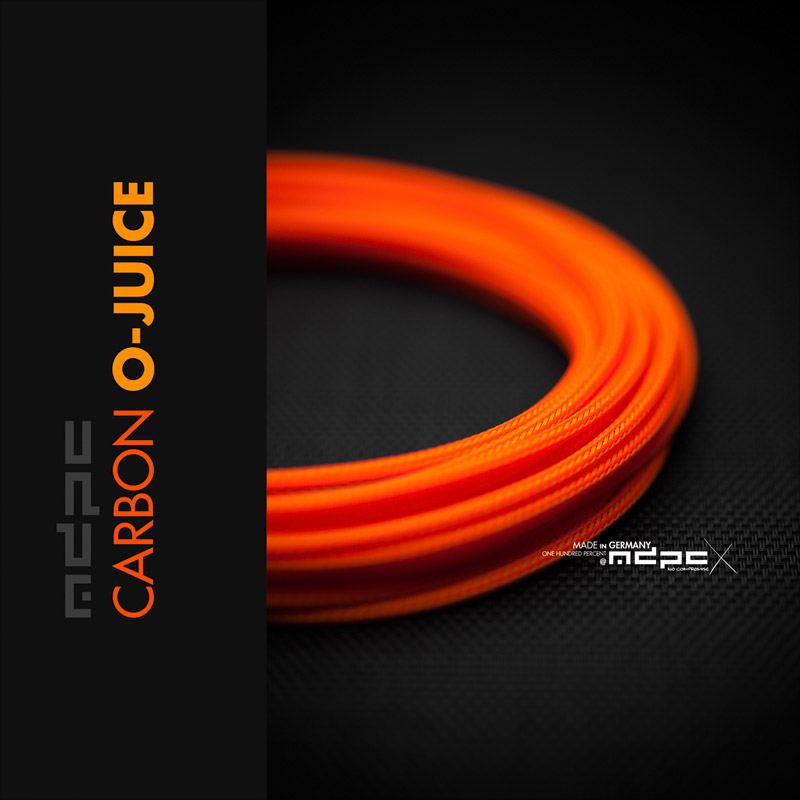 O-Juice cable sleeving: Fresh!
