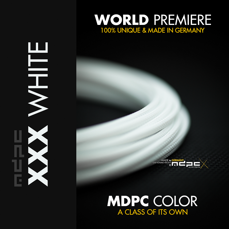 XXX-White Cable Sleeving by MDPC-X