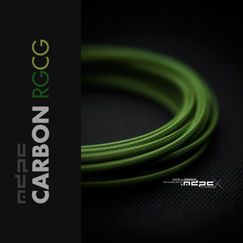 MDPC-X Cable Sleeving: New Carbon-RGCG sleeves!